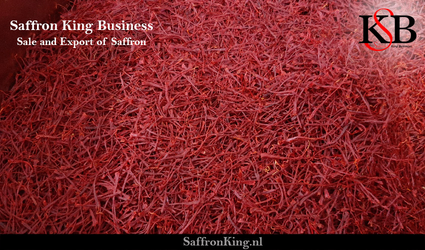 Saffron per kilo in the saffron market