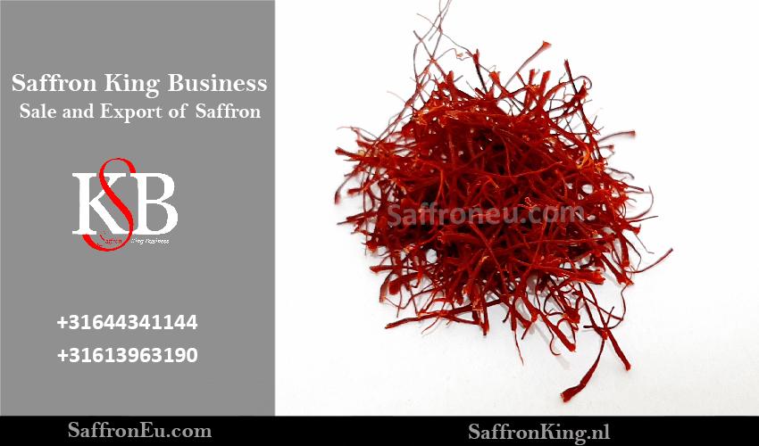 Berapa harga setiap kilo saffron yang diekspor?