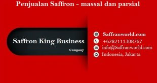 Penjualan Saffron - massal dan parsial