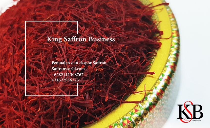 Harga safron Spanyol adalah satu gram