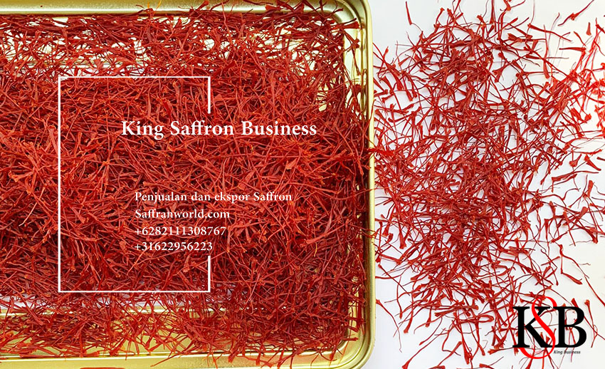 Jual saffron dengan jaminan kualitas